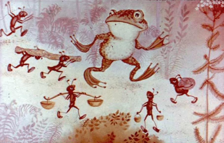 Скупая лягушка