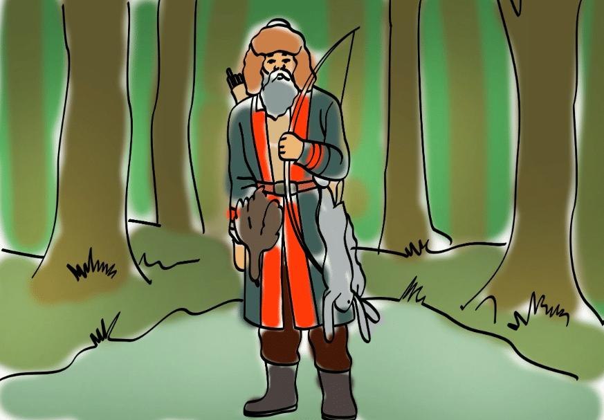 Охотник Юлдыбай